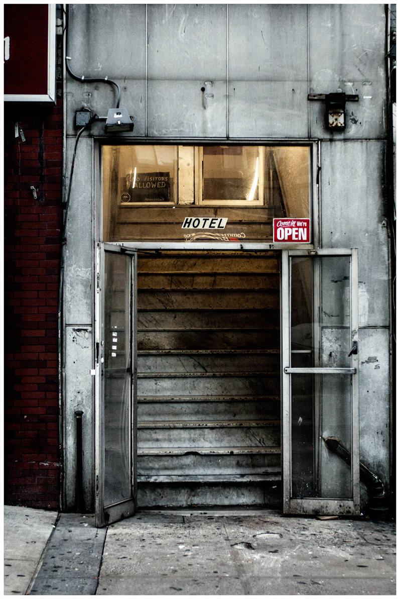 Hotel Entrance, New York City (near 42nd Street) Photo: Andrew Shaylor