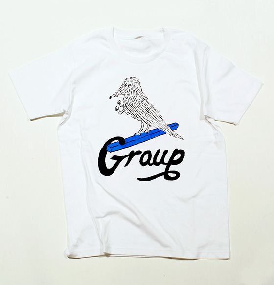 group_inou / Group T-shirt (white)