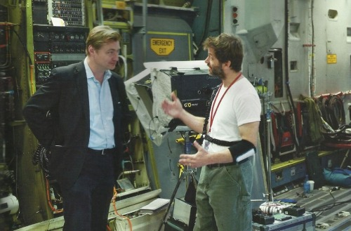 connorfilm:  Christopher Nolan and Zack Snyder during the filming of Man of Steel