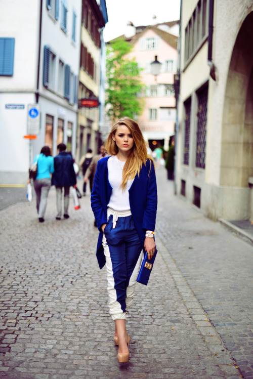Kristina Bazan wearing Koval love it all.