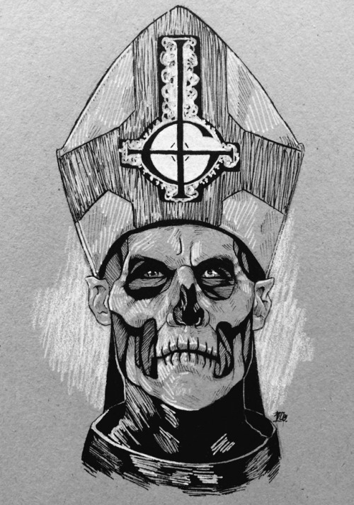 theobsessivefan:  I know haven't posted art in forever, but here is Papa II to help get me back into the swing of things