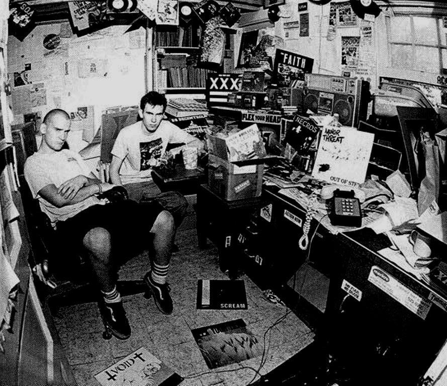 animamvndi:  Ian MacKaye with Jeff Nelson.
