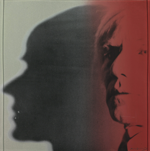 Warhol Each of the 10 works in Andy Warhol's Myths portfolio represents a different archetype of American popular culture, including Dracula, Santa Claus, Superman, and Uncle Sam. Apparently, each print in the portfolio also expresses some facet of Warhol's own personality; The Shadow, a self-portrait, seems to confirm this notion. By including this image of himself in the series, Warhol recognized his own contribution to American cultural mythology.  Place your bid for The Shadow on artnet Auctions.