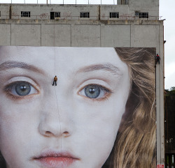 The Last Child installation (2008) by Gottfried Helnwein
