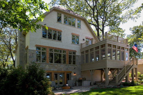 georgianadesign:  Powers Lake residence, WI. Orren Pickell Building Group.