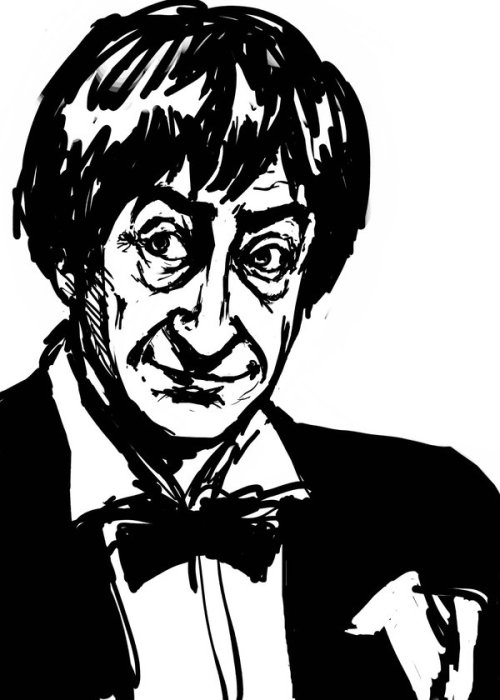 onna4:  Troughton Sketchiness by ~AdAbsurdum