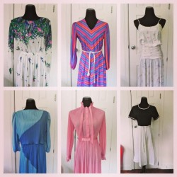 More 70s and 80s beauties www.vintageworldrocks.com #vintage #etsyvintage #etsy