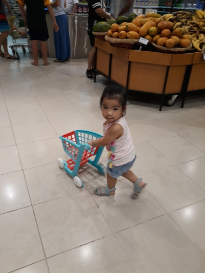 Grocery shopping like a boss