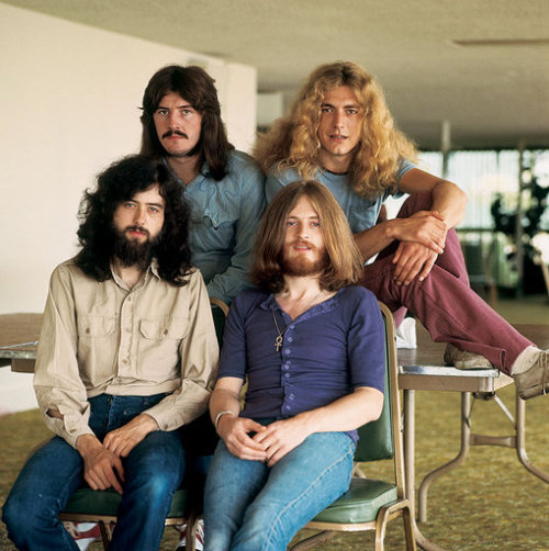 Led Zeppelin by Jim Marshall, 1970.