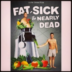 hotchocolateliger:  Watching fat,sick and nearly dead.great documentary on the power of juicing.let your food heal you the way nature intented you #documentary #health #juicing #mothernature