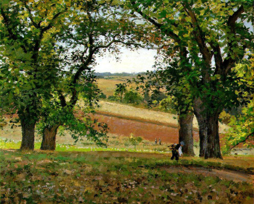 Pissarro,_Camille,_Les_chataigniers_a_Osny_(The_Chestnut_Trees_at_Osny),_1873