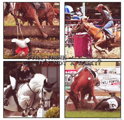 Please, tell me again that it's not a sport.