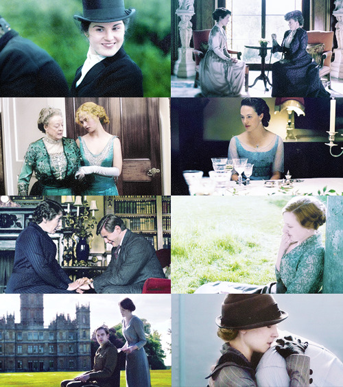 ⌘  cylonish |  Downton Abbey + blue