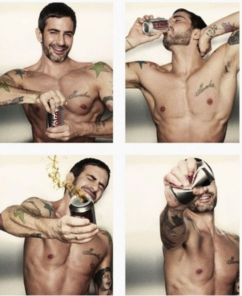 Marc Jacobs is the new creative director of…Diet Coke?!