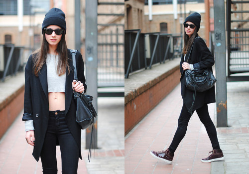 lookbookdotnu:  The Cropped Top (by Zina CH)