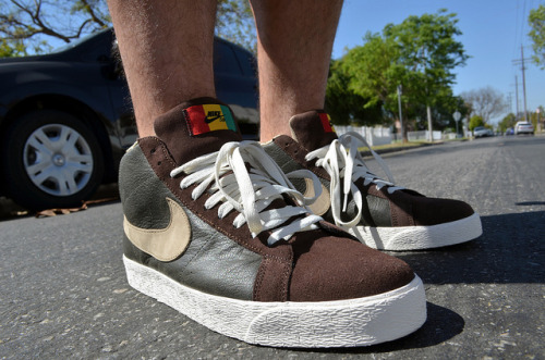 Nike SB 420 Blazers on Flickr.WDYWT Nike SB 420 Blazers 4/20/2013