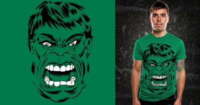 Angry Face http://www.threadless.com/Hulk/angry-face/