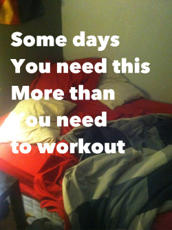ocfitness:  you build muscle during sleep remember. not in the gym. a health and fitness blog run by a personal trainer.