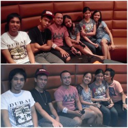 The Gang #videoke #red #sunday #bonding  (at Red Box)