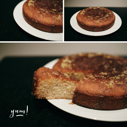 {blogged} Lemon pound cake.
