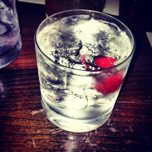 White manhattan! #Manhattan #Yum #Alcohol #Cherry #Italian