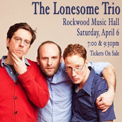 "celebtwitterpics:  @edhelms ""My band The Lonesome Trio coming to NYC! 2 shows April 6th@RockwoodNYC Tix here: http://ow.ly/iQcCW  Cant Wait!"""