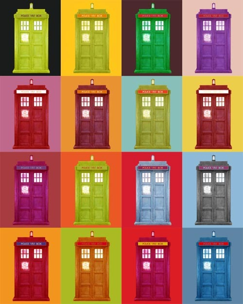 cloysterbell:  Andy Warhol v. Doctor Who