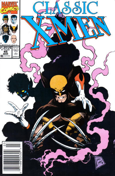wolverineholic:  Classic X-Men Vol 1 #45 (1990) cover by Steve Lightle