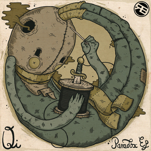 Qi - Paradox EP artwork, forthcoming on Rogue Beatz. http://soundcloud.com/qi-music/sets/paradox-ep-2  Christi du Toit // Graphic Art