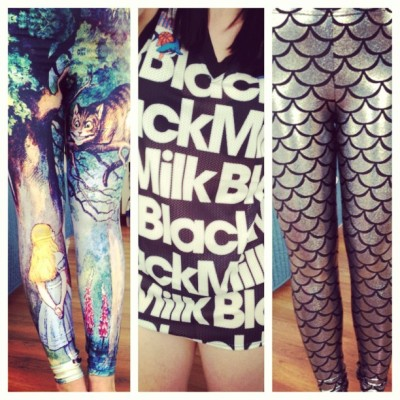 yay for blackmilk @blackmilkclothing #bmcheshirecatleggings #bmbasketballjersey #bmmermaidsilver #blackmilk #sharkie #blackmilkclothing #addicted 💕👌