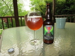 Hill Farmstead Juicy - This was very good. Didn't really notice any differences from the bottle I opened in November. The dregs from this bottle went straight into the carboy - hopefully that wild Greensboro yeast was still vital.