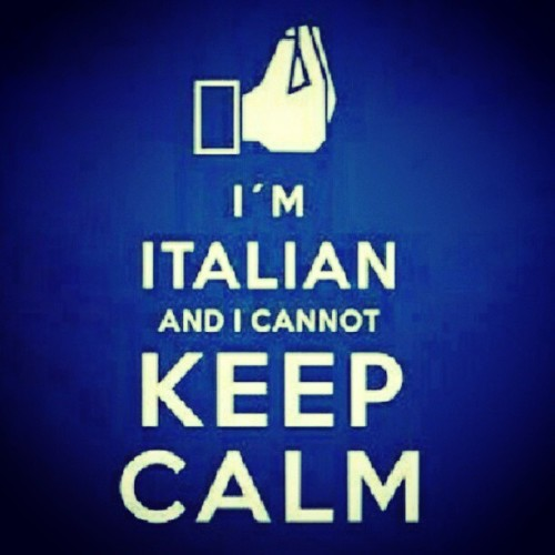 Exactly.  #keepcalm #italia #Italian #truth #NOT