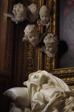 "tierradentro:  Detail from Bernini's ""Beata Ludovica Albertoni"" (via)"