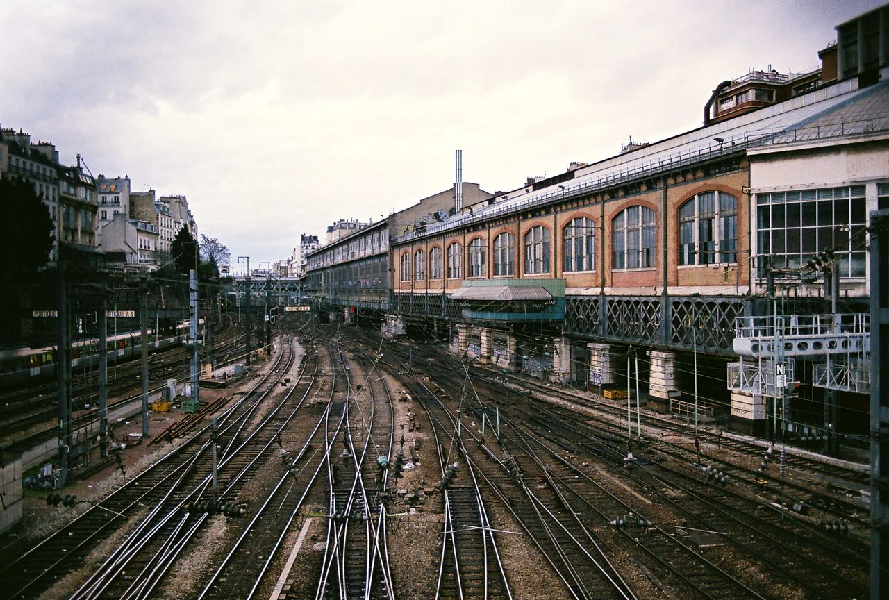 ladreamgirl:  Train Tracks Paris