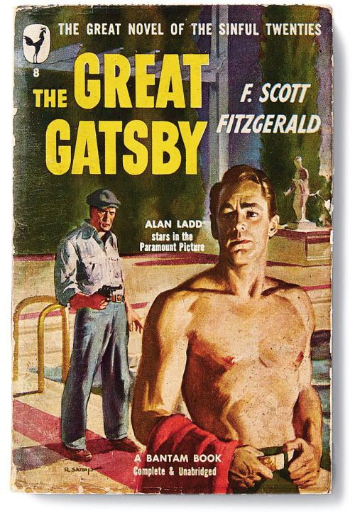 The Gatsby Covers. Gotta love this inexplicable pulp noir edition.