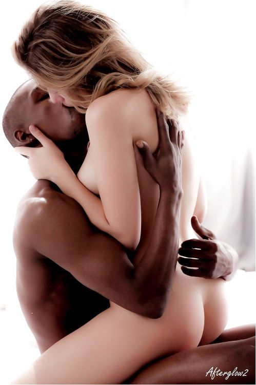 femdomhotwifecuckoldinterracial:  Something's changing with Johnny. He's still the rough, dominant, aggressive thug in bed that he's always been. He still mostly just loves to fuck, and likes it nasty. But lately, I've noticed that he slows down sometimes, and makes love to me. This is a huge change for him, really different than what I've been used to from him. The other thing I've noticed is that after he cums inside me, he'll stay inside me, and just kind of keep moving slowly inside me, sort of like he's churning it, trying to get his cum deep inside me, like he's making butter. He'll put his fingers over my clit, gently, softly rub it, and make me cum that way again. It feels amazing!