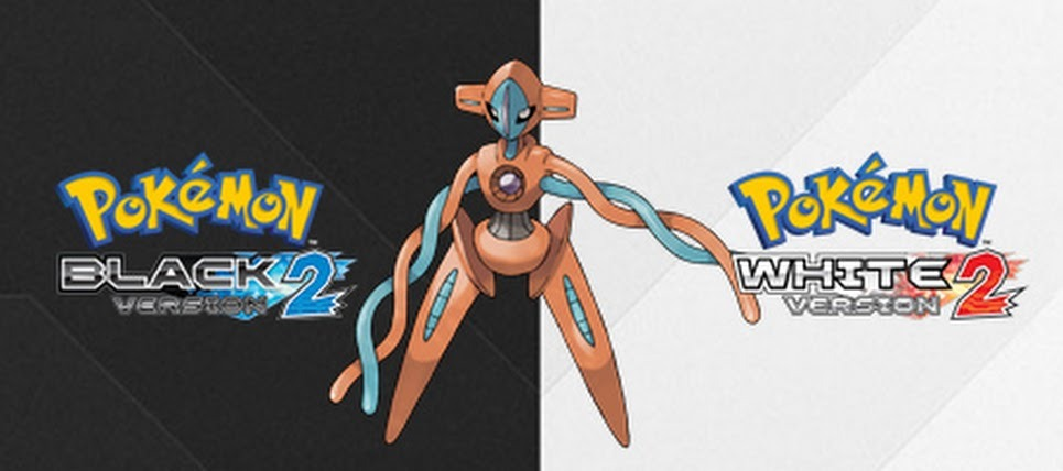 The Pokemon Deoxys Comes To Pokemon Black and White 2 Pokemon Black and White 2 owners stand a chance to get the legendary Pokemon Deoxys soon on their games.Deoxys will be available through a special Wi-Fi Distribution on May 8, 2013. It will be at Level 100. Deoxys is sad to be a space virus that got turned into  a Pokemon when a laser hit it. It has four forms: Normal, Attack, Defense, and Speed. According to Marriland, there is a chance that this Deoxys has the following moves: Nasty Plot, Dark Pulse, Recover, and Psycho Boost.Still don't have Pokemon Black and White 2? Buy them on Play-Asia.  http://bit.ly/15LcYX3