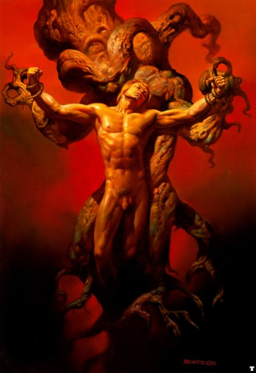 sinmadison:  PAN Art - by Boris Vallejo