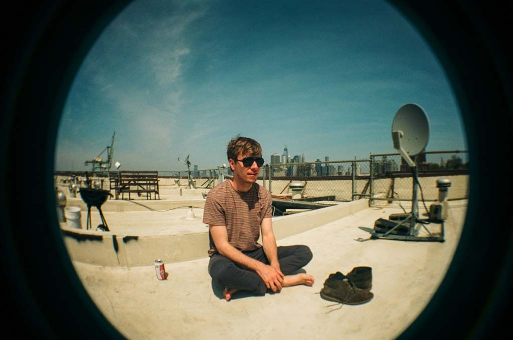 Me via a toy fisheye film camera on my friend's rooftop last weekend. - Brooklyn, NY - 04/28/2013