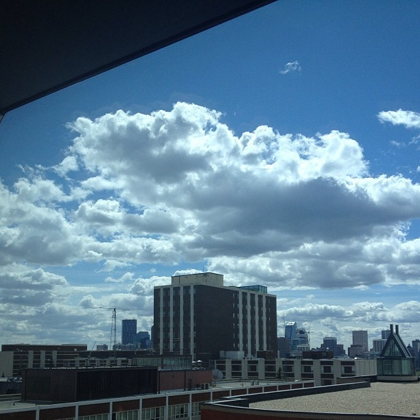 Looking southeast #cloudporn #yyc #sait  (at SAIT Polytechnic (Aldred Centre))