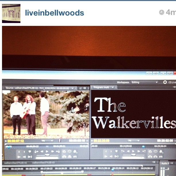 new @liveinbellwoods with @walkervilles  coming soon!!! and follow the new live in bellwoods instagram!!