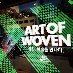 ART OF WOVEN #nike #seoul #korea #itaewon #sneakers #footwear #kicks #nikewoven #cloud33 #cloud33mag #cloud33seoul #grabs #thegrabs  (at NIKE Town)