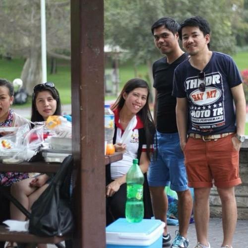 Park park din pag may time #litratongpinoy #creekpark #dubai #uae #ofw