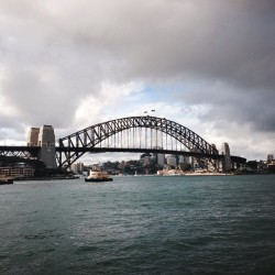 Bridge.  (at Circular Quay)