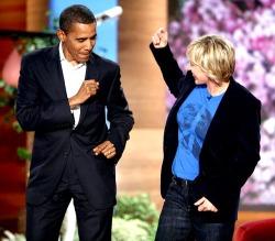 ellen degeneres obama michelle obama Barak Obama how anyone could hate ellen is beyond me