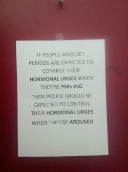 thesoundofthatsmile:  Found this in a stall in the girls restroom at my school. Hell yes.