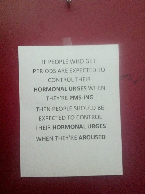 body-positive-vegan-babe:  thesoundofthatsmile:  Found this in a stall in the girls restroom at my school. Hell yes.  I wish my school was this rad!