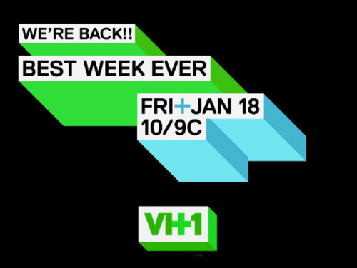 "vh1:  That's right.  Best Week Ever is BACK. Now let us catch you up on everything we missed in a handy little video.  I'm pretty excited about this, I've always loved all the various incarnations of BWE. Also another not-so-subtle hint to watch the show I work on, because on today's ""The Morning After"" we discussed the VH1 rebrand. Frankly, I miss the days when the network was just hours upon hours of Behind the Music."