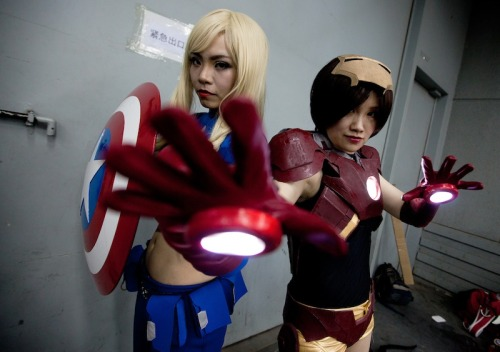 A thriving cosplay culture exists in China. On Sunday, there were plenty of good times and awesome characters mingling at the Animation and Comics Fair in Beijing — here's a look at the action this weekend. MORE PICS.