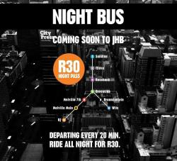 I just found out about this yesterday!! JOZI NIGHT BUS!!! OH MAN!! I'M SO FLIPPEN EXCITED!!! Follow them on twitter here. Like them on facebook here Check out their website here.